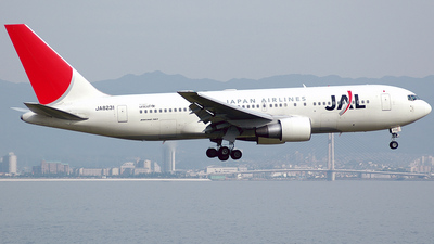 JA8231 - Boeing 767-246 - Japan Airlines (JAL)