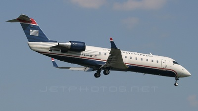 N416AW - Bombardier CRJ-200ER - US Airways Express (Air Wisconsin)