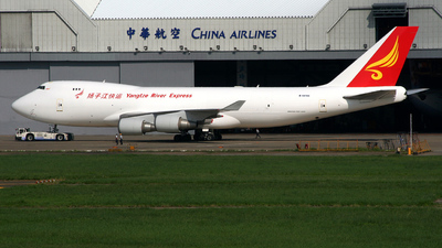 B-18705 - Boeing 747-409F(SCD) - Yangtze River Express
