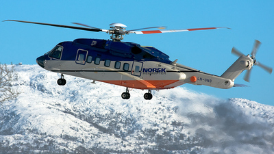 LN-ONO - Sikorsky S-92 Helibus - Norsk Helikopter