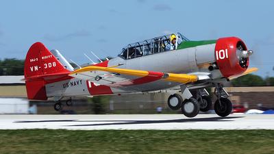 N101VT - North American SNJ-4 Texan - Private