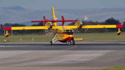 C-FQWA - Canadair CL-215 - Spain - Air Force