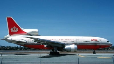 JY-AGD - Lockheed L-1011-500 Tristar - Alia - The Royal Jordanian Airline