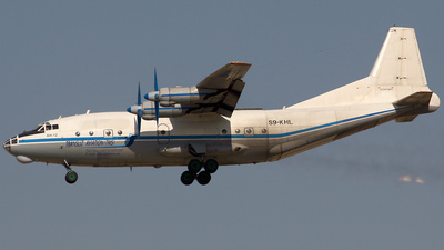 S9-KHL - Antonov An-12BK - Transliz Aviation
