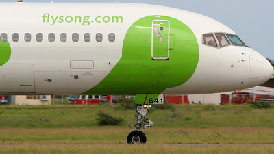 N641DL - Boeing 757-232 - Song
