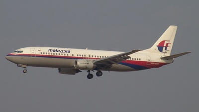 9M-MQH - Boeing 737-4H6 - Malaysia Airlines