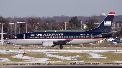 N512AU - Boeing 737-3B7 - US Airways