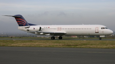 TC-IEE - Fokker 100 - Inter Airlines