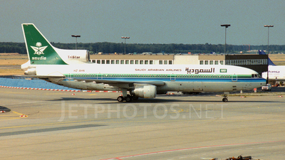 HZ-AHN - Lockheed L-1011-200 Tristar - Saudia - Saudi Arabian Airlines