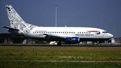 G-MSKE - Boeing 737-5L9 - British Airways (Maersk Air)
