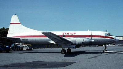 N5512K - Convair CV-640 - Zantop International Airlines