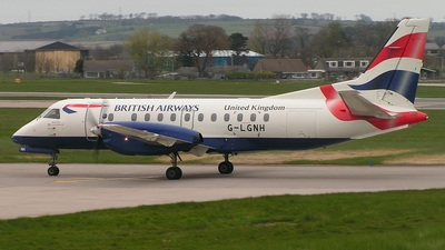 G-LGNH - Saab 340B - British Airways (Loganair)