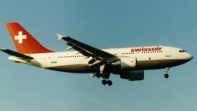 HB-IPF - Airbus A310-322 - Swissair