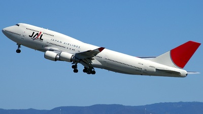 JA8912 - Boeing 747-446 - Japan Airlines (JAL)