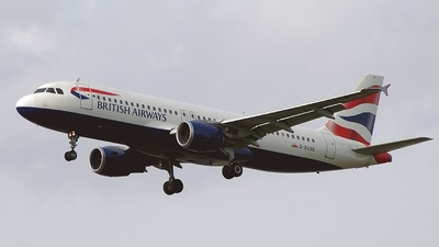 G-BUSG - Airbus A320-211 - British Airways