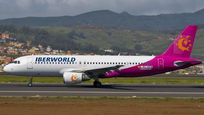 EC-KEN - Airbus A320-214 - Iberworld Airlines