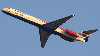 HS-OMH - McDonnell Douglas MD-83 - One-Two-GO by Orient Thai