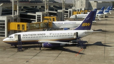 LV-YGB - Boeing 737-2S3(Adv) - Southern Winds