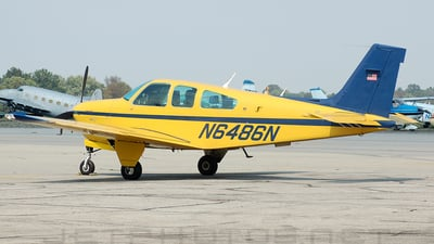 N6486N - Beechcraft F33A Bonanza - Private