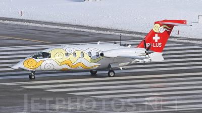 HB-LUS - Piaggio P-180 Avanti II - Sunny Air