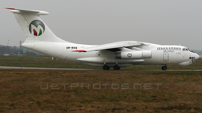 UR-BXQ - Ilyushin IL-76TD - Maximus Air Cargo (Ukraine Air Alliance)