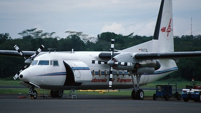 PK-TSL - Fokker F27-500 Friendship - Indonesia Air Transport (IAT)