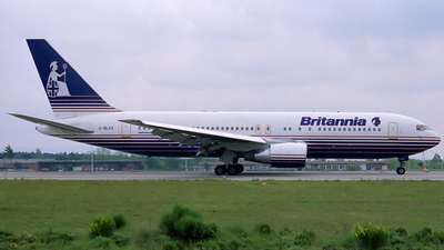 G-BLKV - Boeing 767-204 - Britannia Airways