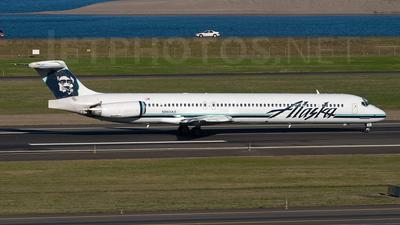 N960AS - McDonnell Douglas MD-83 - Alaska Airlines
