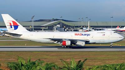 TF-ATZ - Boeing 747-236B(SF) - MASkargo