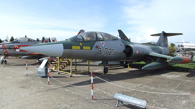 9725 - Lockheed F-104 Starfighter - Turkey - Air Force