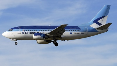 ES-ABD - Boeing 737-5Q8 - Estonian Air