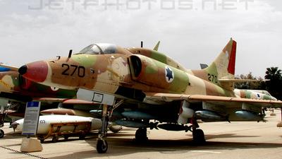 270 - McDonnell Douglas A-4 Skyhawk - Israel - Air Force