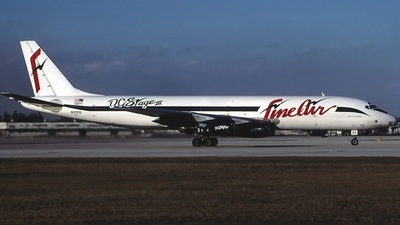 N57FB - Douglas DC-8-54(F) - Fine Air