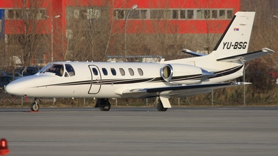YU-BSG - Cessna 550B Citation Bravo - Prince Aviation