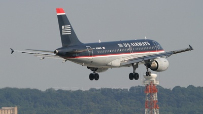 N766US - Airbus A319-112 - US Airways