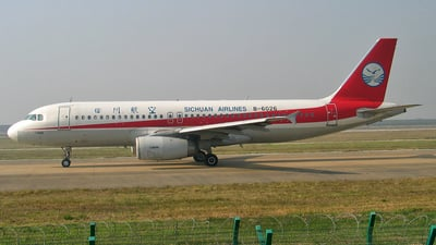 B-6026 - Airbus A320-232 - Sichuan Airlines
