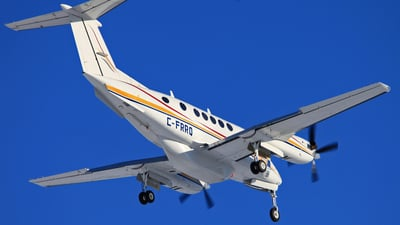 A picture of CFRRQ - Beech 200 Super King Air - North Caribou Flying Service - © Mike MacKinnon