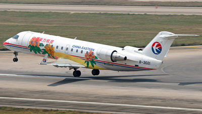 B-3021 - Bombardier CRJ-200ER - China Eastern Airlines
