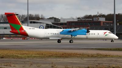 A picture of 5YVVX - De Havilland Canada Dash 8400 PF - Bluebird Aviation - © Matthew Lima
