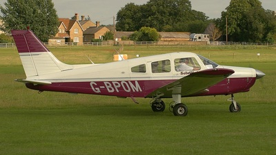 A picture of GBPOM - Piper PA28161 - [288416118] - © S. Thomas
