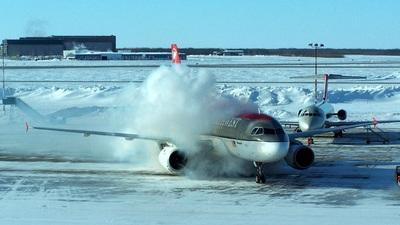 N318NB - Airbus A319-114 - Northwest Airlines
