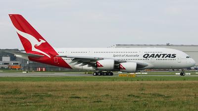 F-WWSK - Airbus A380-842 - Qantas