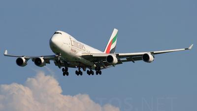 OO-THD - Boeing 747-4HAERF - Emirates SkyCargo (TNT Airways)