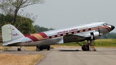 HK-2663 - Douglas DC-3C - Arall - Aerolineas Llaneras