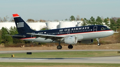 N709UW - Airbus A319-112 - US Airways