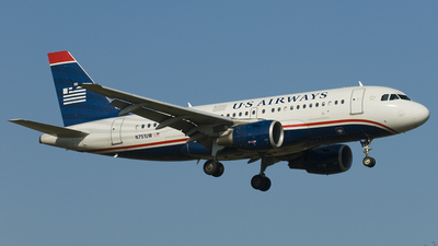 N751UW - Airbus A319-112 - US Airways