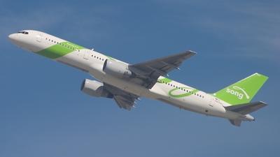 N645DL - Boeing 757-232 - Song