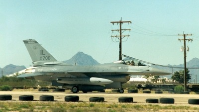 81-0700 - General Dynamics F-16A Fighting Falcon - United States - US Air Force (USAF)