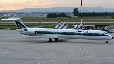 I-DACX - McDonnell Douglas MD-82 - Alitalia
