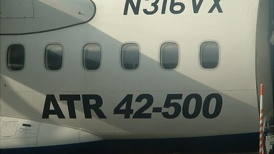 N316VX - ATR 42-500 - ACES Colombia
